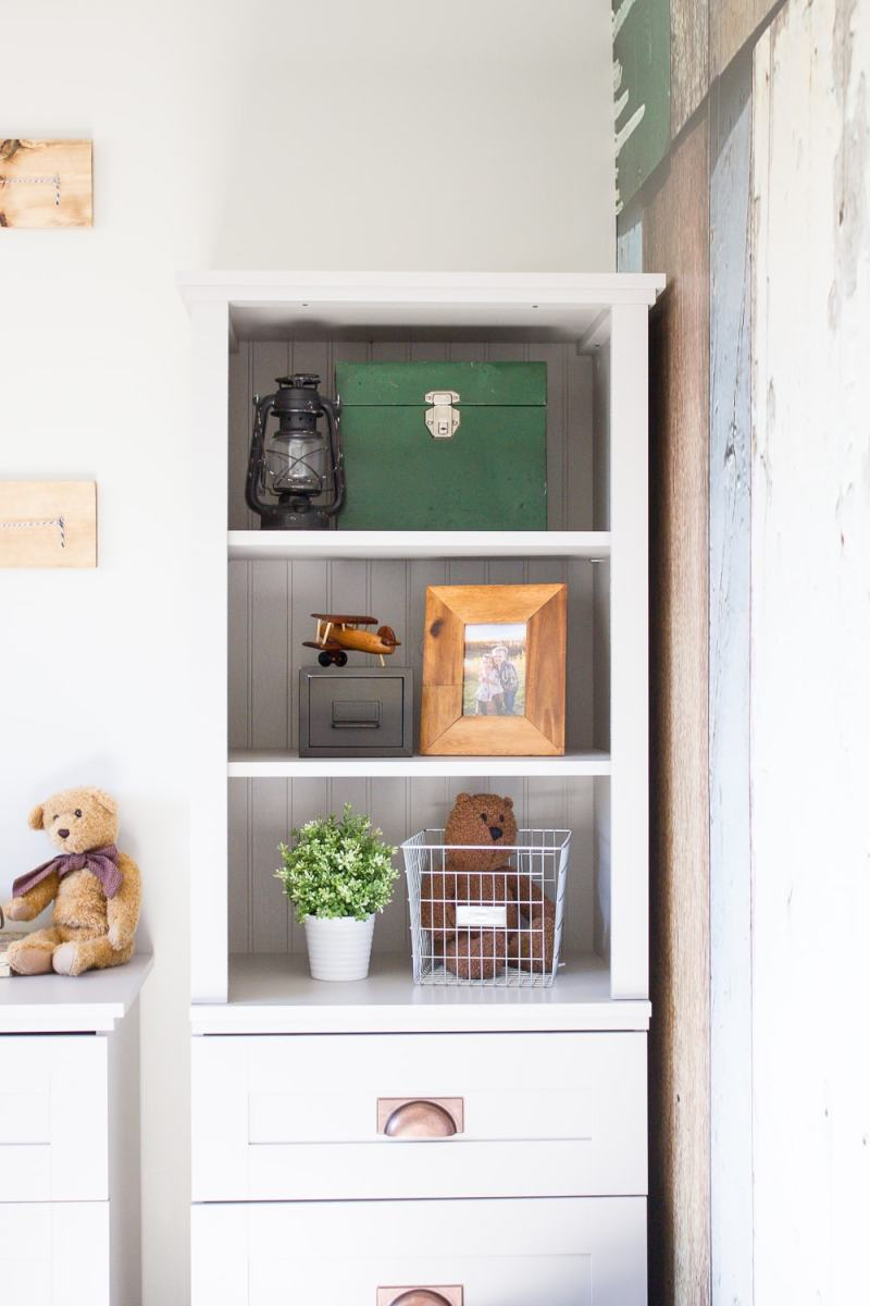 Farmhouse Home: 3 Simple Tips to a Perfectly Styled Shelf